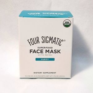NIB  FOUR SIGMATIC SUPERFOOD FACE MASK ~PURIFY